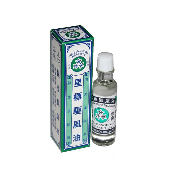 THREE STAR BRAND MEDICATED OIL