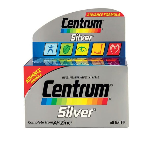 CENTRUM SILVER FOR ADULTS ABOVE FIFTY TABLETS