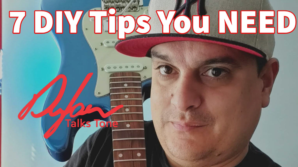 7 DIY Guitar Tips You Can Do For Free