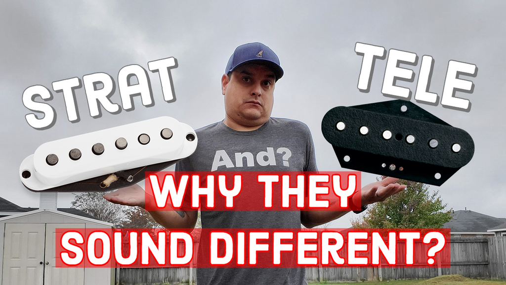 What Is The Difference Between a Stratocaster Pickup And A Telecaster Pickup