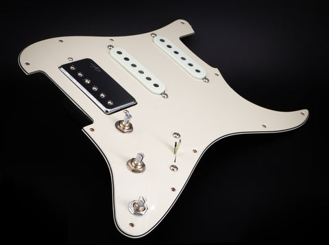 Loaded S style Pick Guard