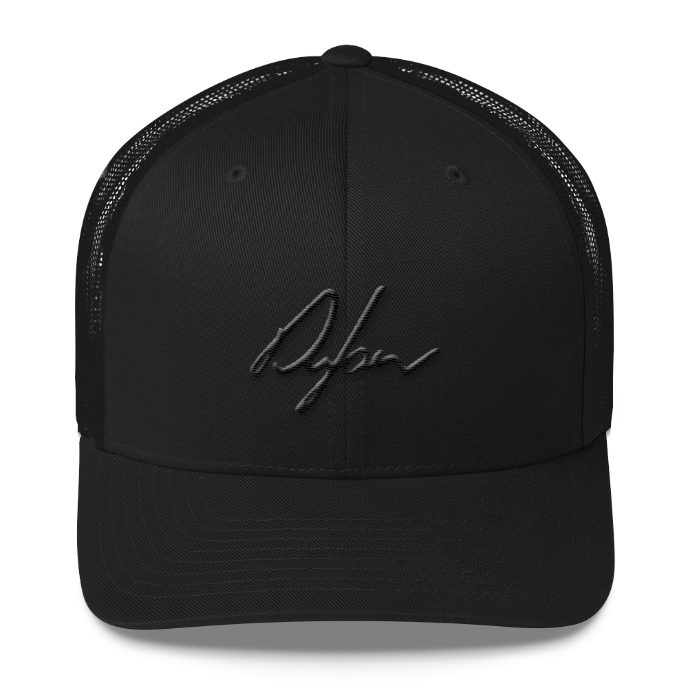 "The Dylan ""Blackout"" Mesh back Cap"