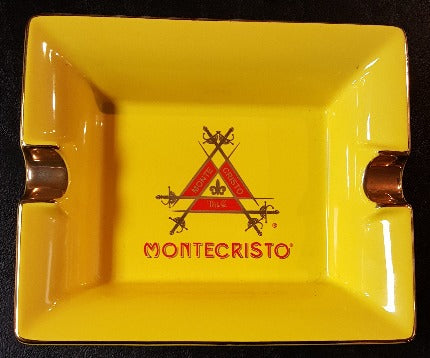 Ashtray: Montecristo Logo