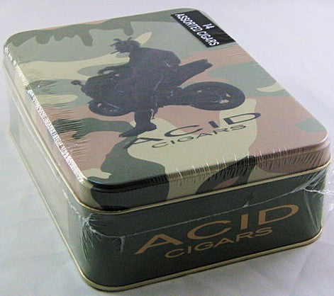 Acid Collectors Sampler Tin
