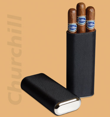 Cigar Case: Craftsman's Bench Nylon - Churchill