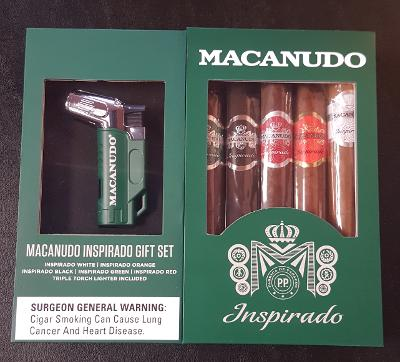 Macanudo Inspirado Sampler w/ Lighter