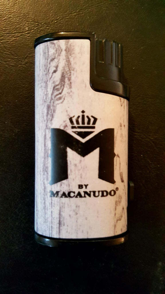 FREE MACANUDO TRIPLE-FLAME TORCH LIGHTER WITH PUNCH CUTTER