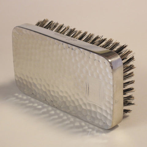 Brush: Military Hammered/Pewter