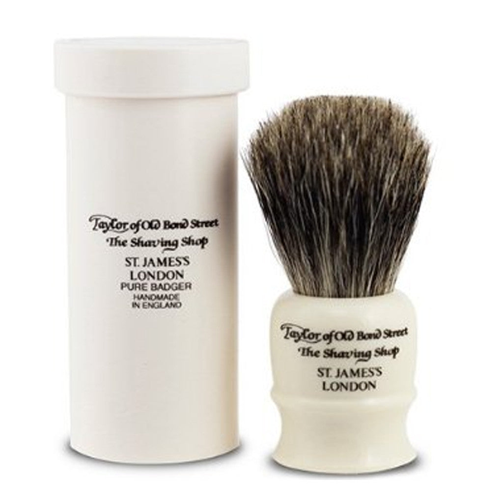 Shave Brush: Travel Ivory
