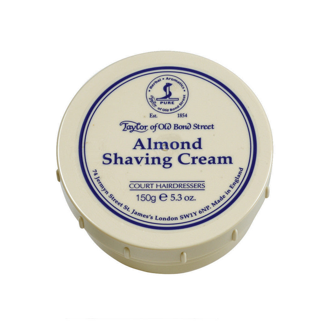 Shaving Cream: Almond