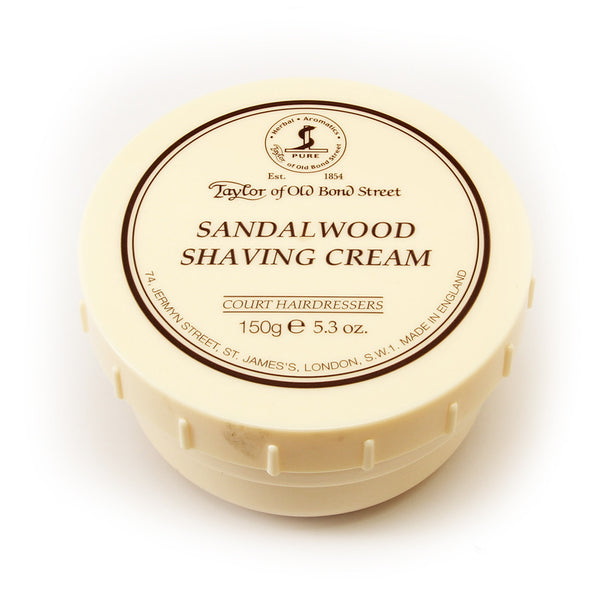 Shaving Cream: Sandalwood