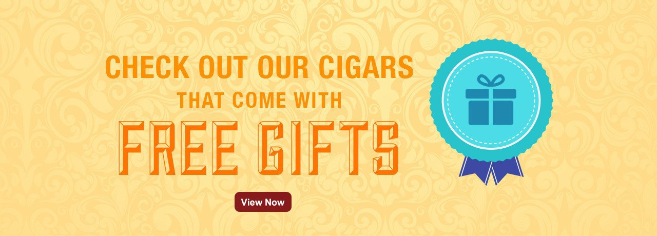 Cigars with free Gifts