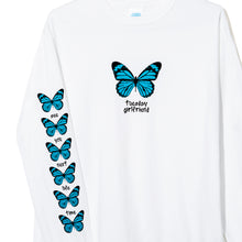 BUTTERFLY LONG SLEEVE T-SHIRT WHITE