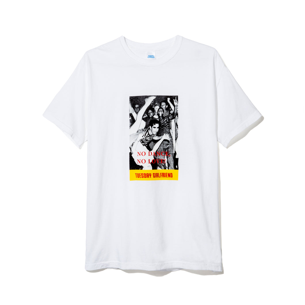 NO DANCE T-SHIRT WHITE
