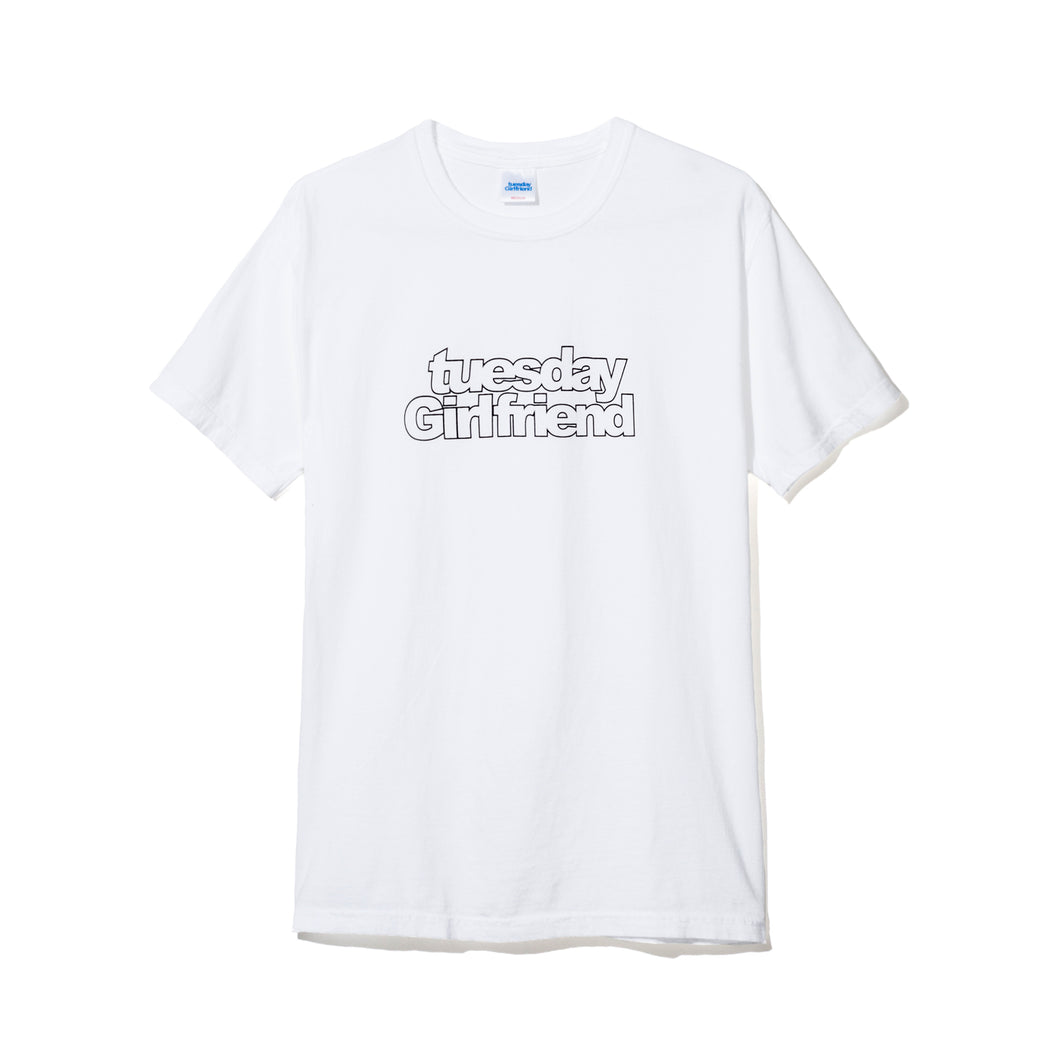OUTLINE LOGO T-SHIRT WHITE