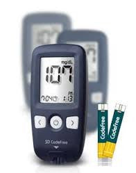 Codefree Blood Glucose Monitor/Monitoring Test