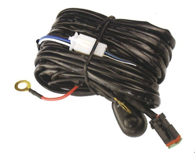 Wire Harness for Light Bar with Connector