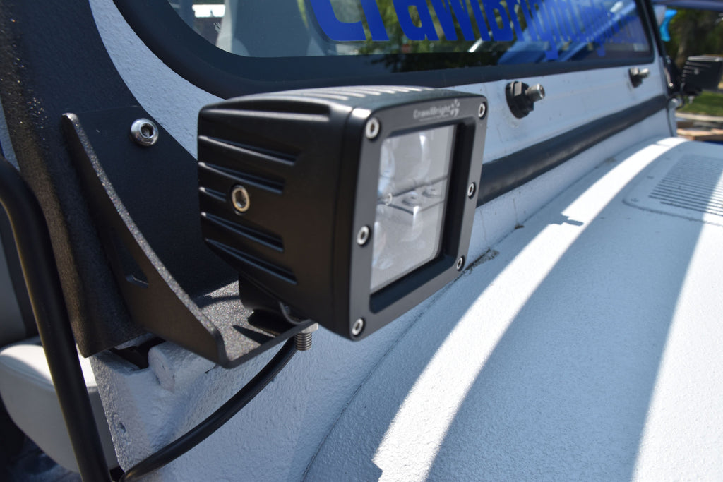 Pillar Bracket for Light Pod for Jeep Wrangler YJ