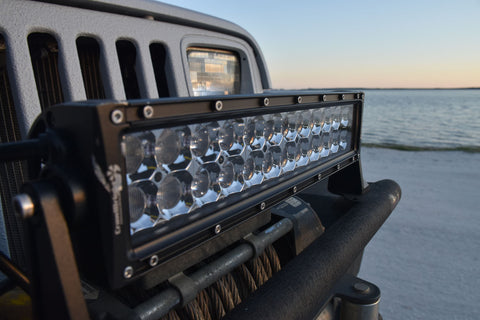 "12"" 13.5"" led light bar jeep wrangler yj"