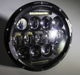 "Headlamp, 75W 7"" for Jeep Wrangler, Pair"