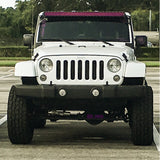 "Window Frame Bracket for 50"" Light Bar on Jeep JK"