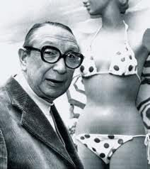 "Louis Reard, founder of the modern two-piece and coined the term ""bikini"" after Bikini Atoll islands"