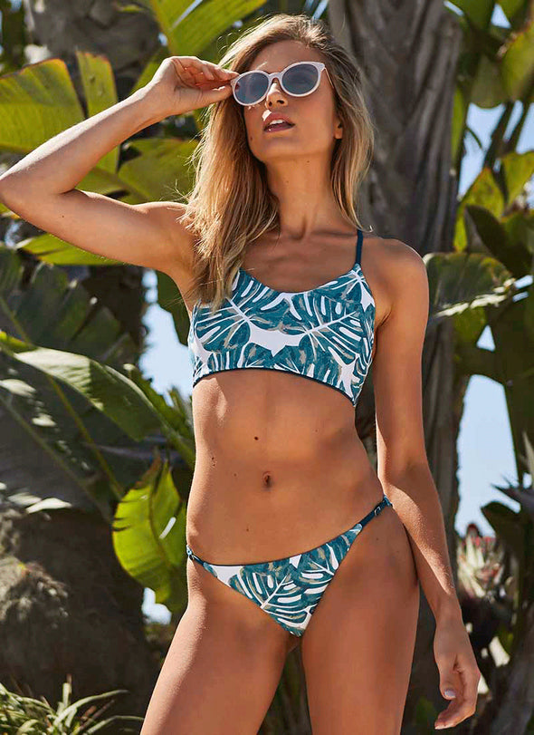 Rocky Halter Top - Pacific Palm / Fiji