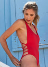 Hartley Scoop-Neck One-Piece - Baywatch