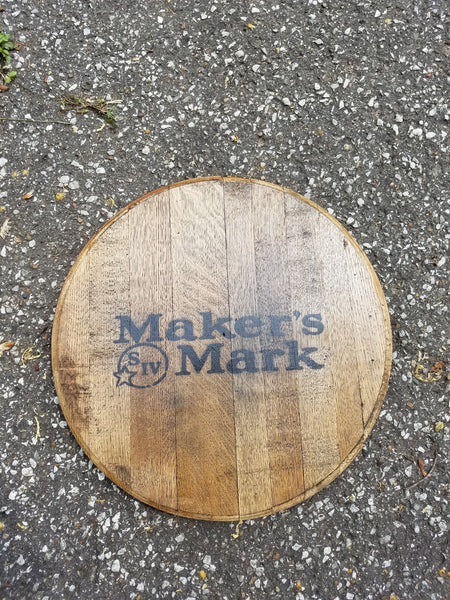 Maker's Mark Barrel Head