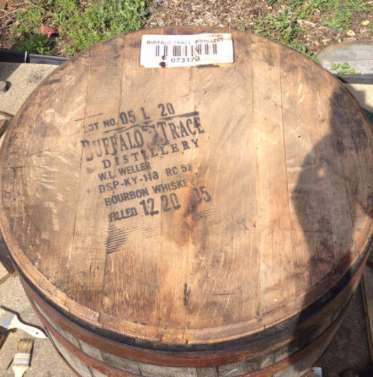 Buffalo Trace Bourbon Barrel Head | Whiskey Barrel Head