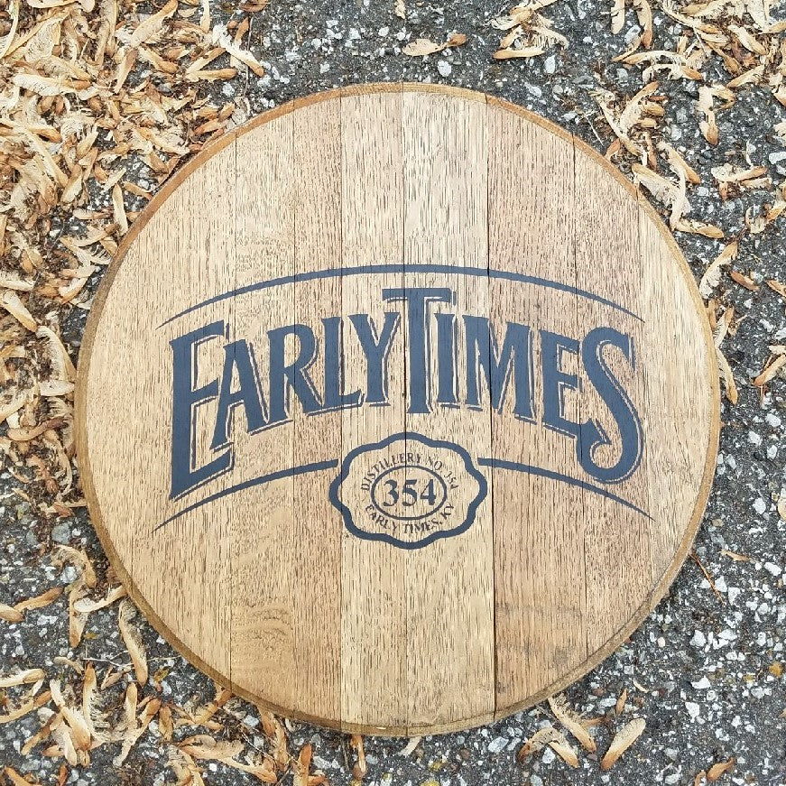 Early Times Bourbon Barrel Head | Whiskey Barrel Head
