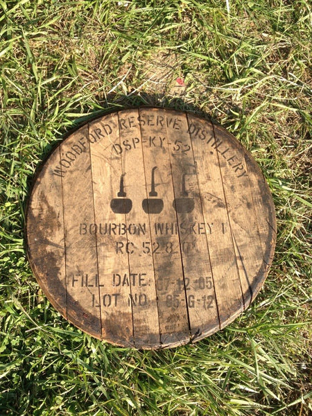 Dark Rustic Woodford Barrel Head