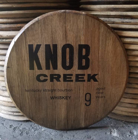 Knob Creek Bourbon Barrel Head | Whiskey Barrel Head