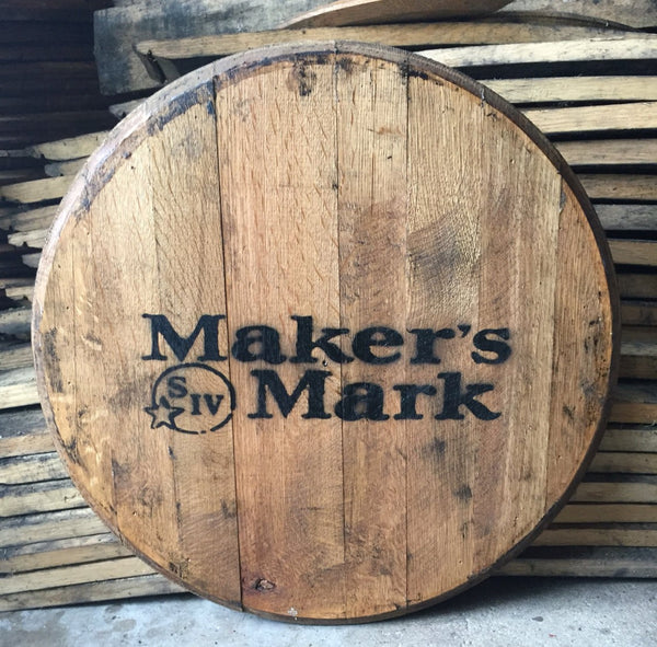 Makers Mark Bourbon Barrel Head | Whiskey Barrel Head