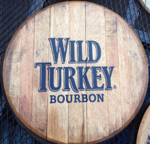 Wild Turkey Bourbon Barrel Head | Whiskey Barrel Head