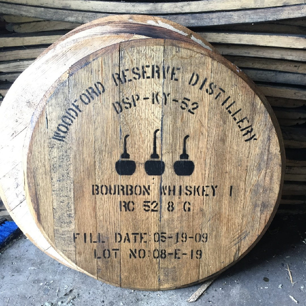 Woodford Reserve Bourbon Barrel Head Whiskey Barrel Head