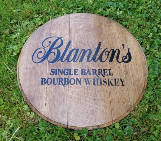 Blanton's Bourbon Barrel Head | Whiskey Barrel Head