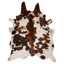 Load image into Gallery viewer, Real Cowhide Rug Spine Tricolor | Decohides®