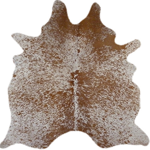 Real Cowhide Rug Salt and Pepper Brown and White | Decohides®