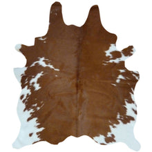 Load image into Gallery viewer, Cowhide Rug Brown and White | Decohides®
