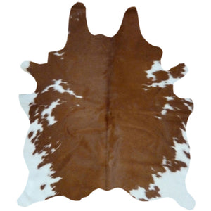Cowhide Rug Brown and White | Decohides®