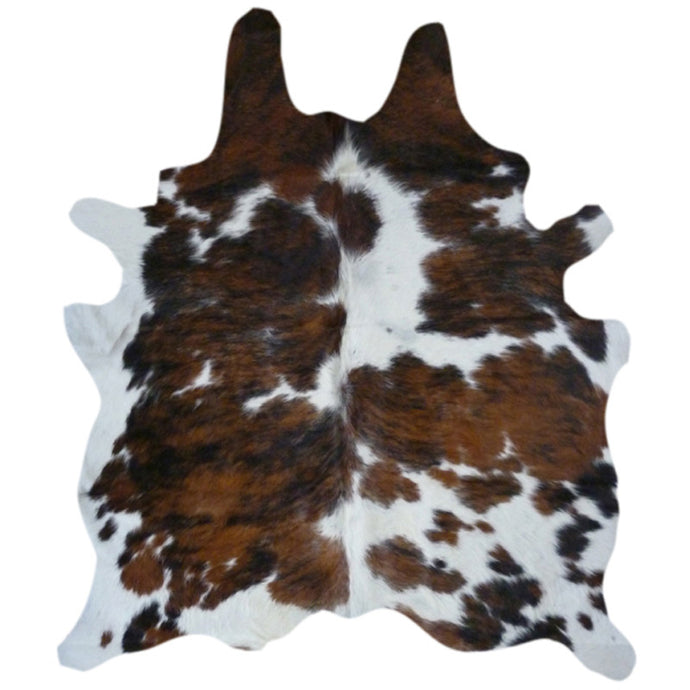 Real Cowhide Rug Tricolor | Decohides®