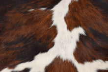 Load image into Gallery viewer, Tricolor Cowhide Rug