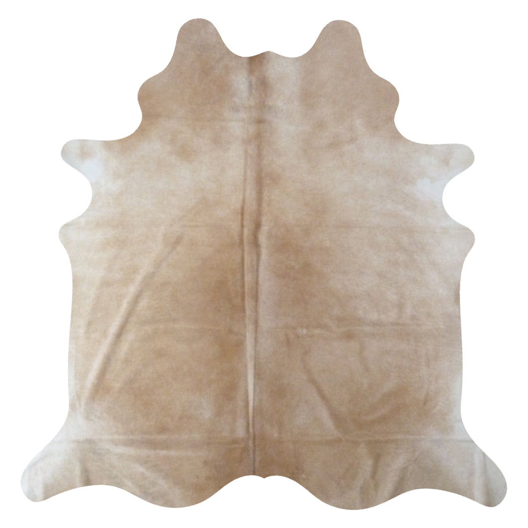 Cream Cowhide rug