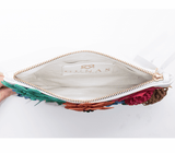 Bloom vegan clutch bag