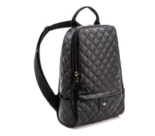 GUNAS New York Black Cougar Quilted Vegan Leather Backpacks 2