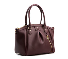 Madison - Burgundy Vegan Bag