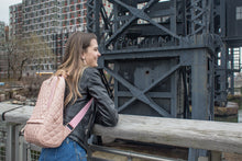 GUNAS New York Model with Cougar Quilted Vegan Leather Backpacks