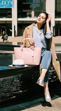 Miley Cyrus Handbags in Pink Vegan Leather: Gunas New York Model 1