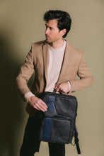 Vegan Leather Laptop Bag JARED - GUNAS New York 5